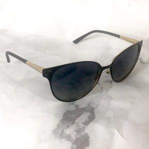 Versace black cat eye sunglasses new w defects